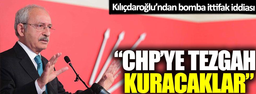 Kılıçdaroğlu'ndan bomba ittifak iddiası: 'CHP'ye tezgah kuracaklar'