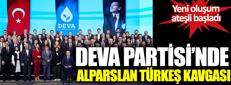 DEVA Partisi'nde Alparslan Türkeş kavgası