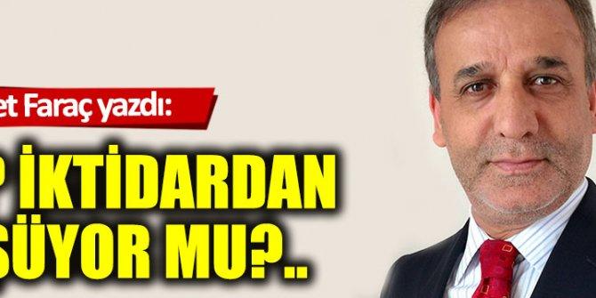 AKP iktidardan düşüyor mu?..