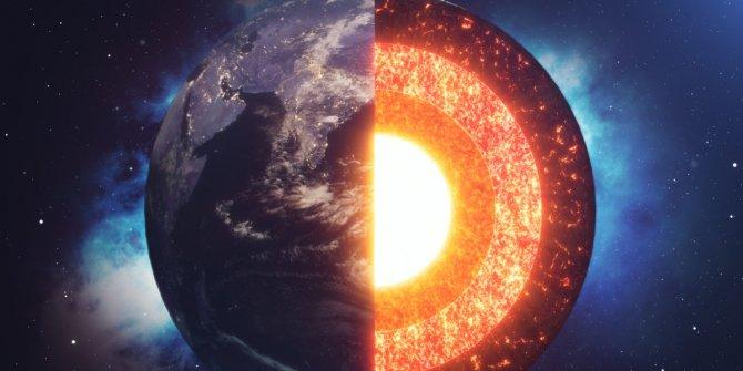 """Bilim insanları inanılmaz bir buluşa imza attı, """"Dünyanın iç çekirdeği karla kaplı"""", Çekirdeğin sıcaklığı 5500 derece civarı"""