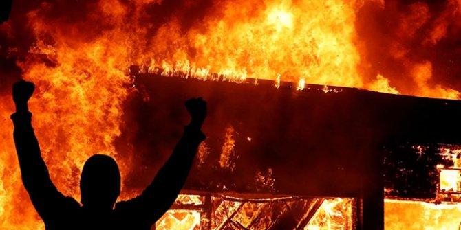 ABD yanıyor: Öfke her yerde