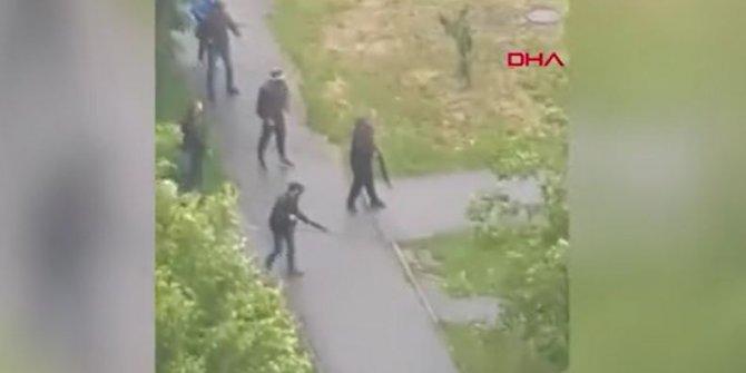 Ukrayna'da sokak ortasında çatışma: 3 yaralı
