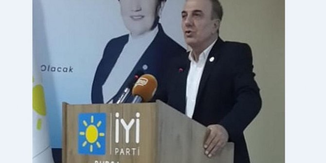 "İYİ Partili Bahadır: ""Camiler ibadet mekânıdır"""