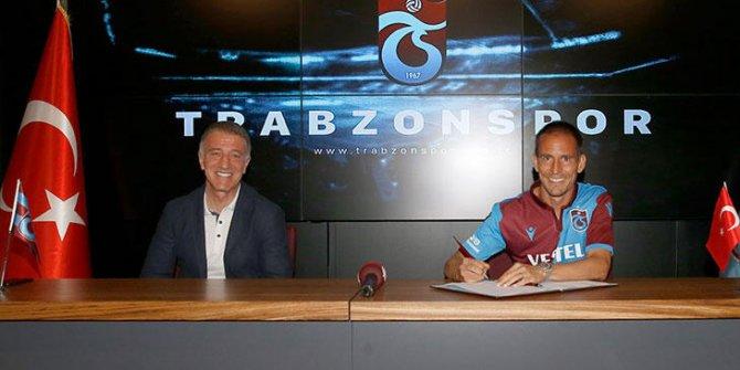Joao Pereira Trabzonspor'da kaldı