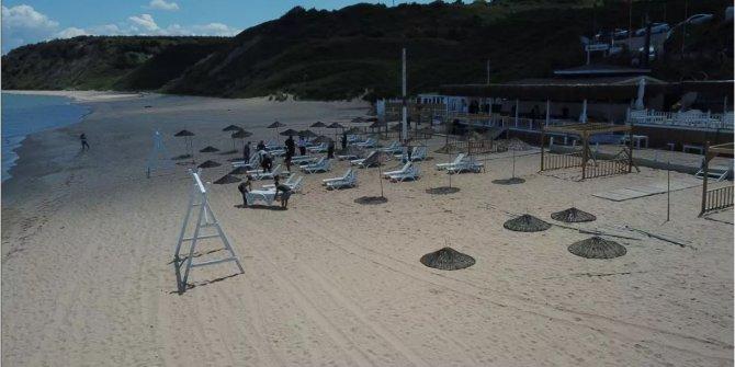 İstanbul plajları da yaza hazırlanıyor