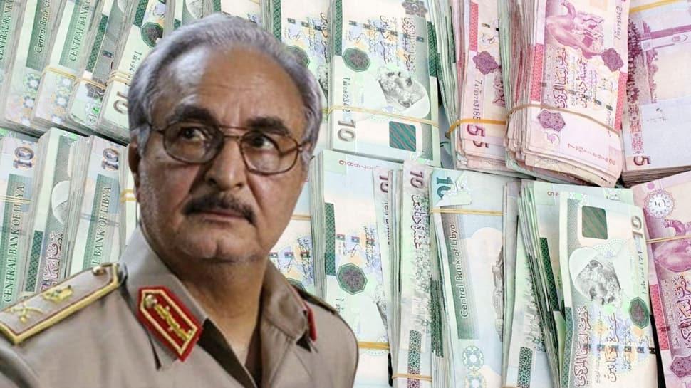 Hafter'in sahte paraları yakalandı