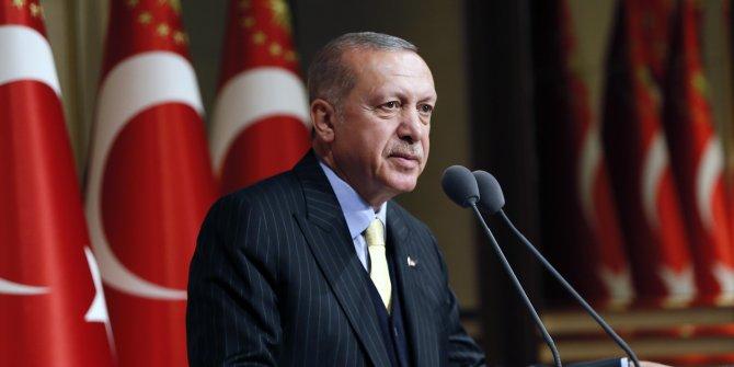 Erdoğan'dan şehitlerimiz için başsağlığı
