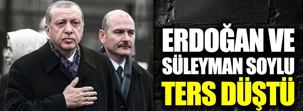 Süleyman Soylu ve Recep Tayyip Erdoğan ters düştü