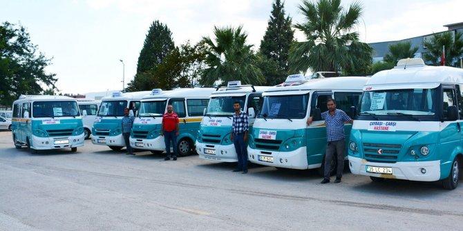 İzmir'de minibüslere korona zammı