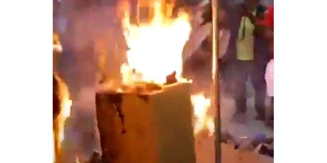 Yağmalanan binayı yanmaktan kurtardı, ABD bu Türk'ü konuşuyor; Helal olsun sana Beşiktaşlı