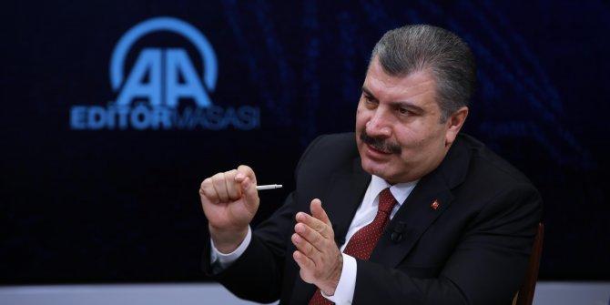 Bakan Koca katıldığı yayında açıkladı; Türkiye'de virüs ne zaman bitecek?