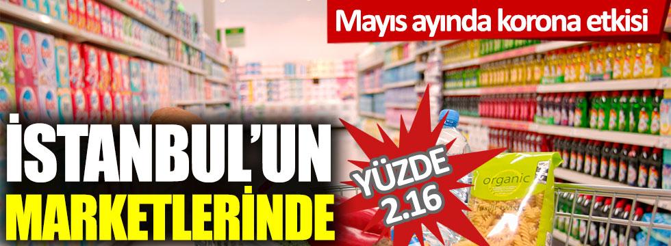 İstanbul'da perakende fiyatları yüzde 2.16 arttı