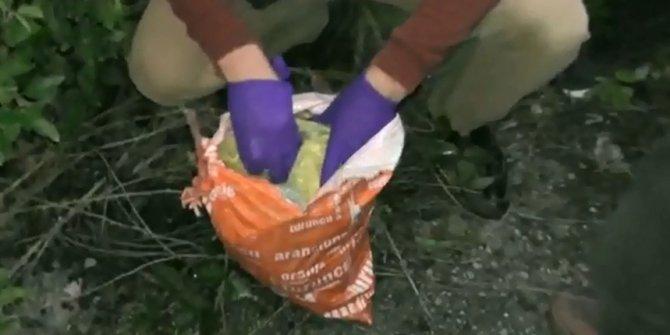 Nefes kesen operasyon: 250 bin lirayı ormanlık alanda buldular