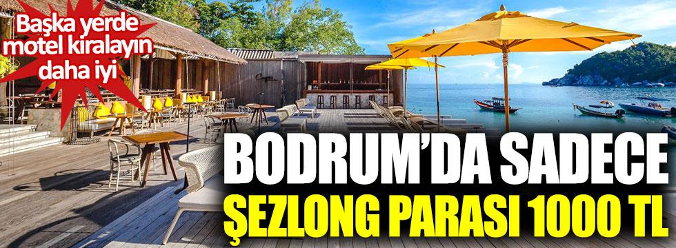 Bodrum'daki bu yere sakın gitmeyin: Günlük şezlong kirası bin lira