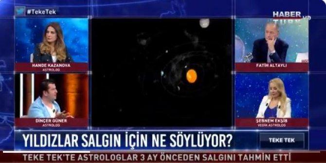 """Korona salgınını bilen astrolog Güner'den ilginç açıklama: """"Dünyada sosyalizme geçiş adımları atılacak"""""""
