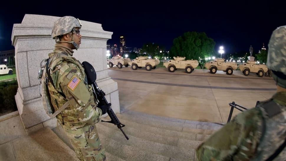 ABD ordusu harekete geçti! Başkente yığınak yapılıyor