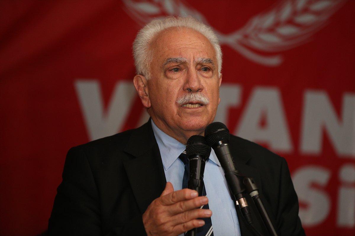 AKP'den Doğu Perinçek'e çok sert sözler