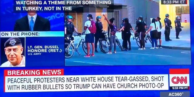 CNN'de Trump'ın İncil'li fotoğrafına çok konuşulacak 'Türkiye' yorumu