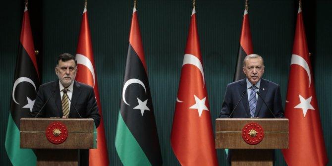 Cumhurbaşkanı Erdoğan ve Sarrac'tan ortak açıklama