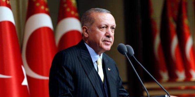 Erdoğan'dan Dünya Çevre Günü mesajı