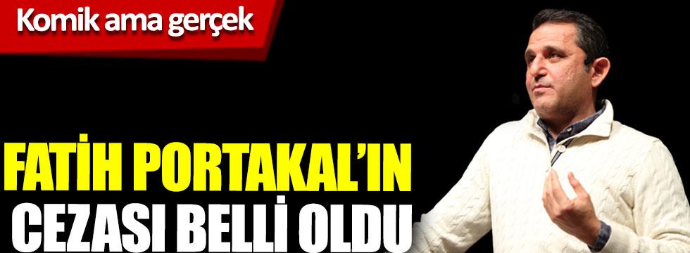 Fatih Portakal'ın cezası belli oldu, komik ama gerçek