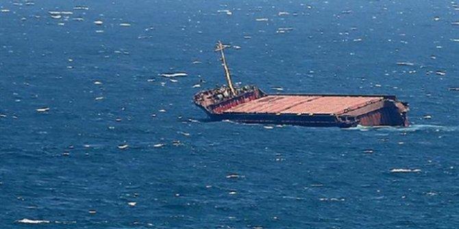 İran yük gemisi Irak karasularında battı