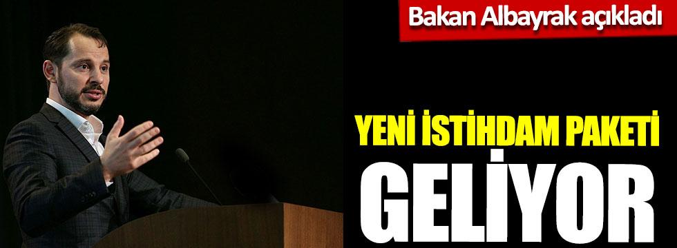 """Bakan Albayrak açıkladı: """"Yeni istihdam paketi geliyor"""""""