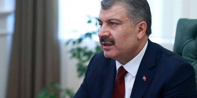 Bakan Koca, Türkiye'nin virüsle başarılı mücadelesini büyükelçilere anlattı