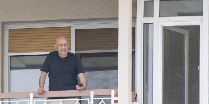 Enis Berberoğlu evinde görüntülendi