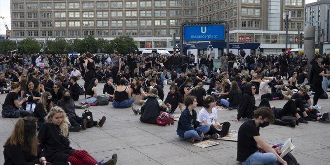 Floyd protestoları Almanya'ya da sıçradı