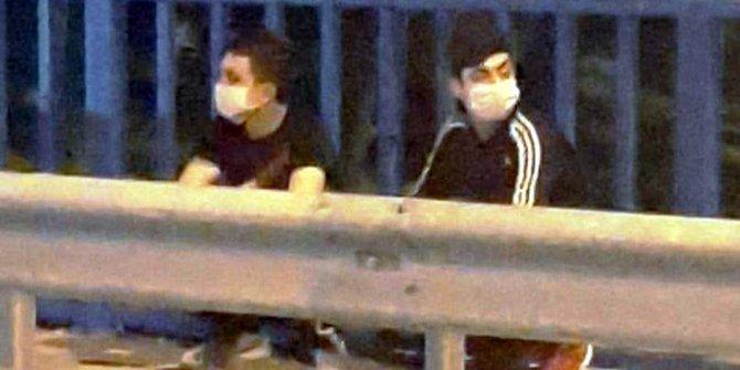 Korona virüs şüphesiyle götürüldükleri hastaneden kaçtılar