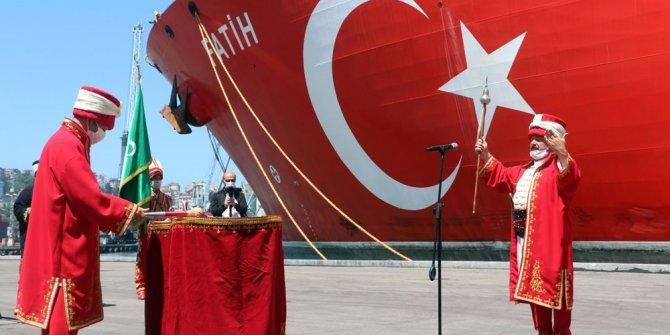 Fatih'e Trabzon'da mehterli karşılama