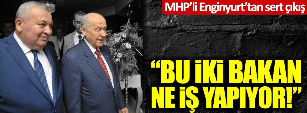 MHP'li Cemal Enginyurt'tan Aleyna Çakır'ın ölümüyle ilgili Soylu ve Gül'e sert tepki!