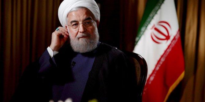 Türkiye'nin ardından Ruhani de rest çekti