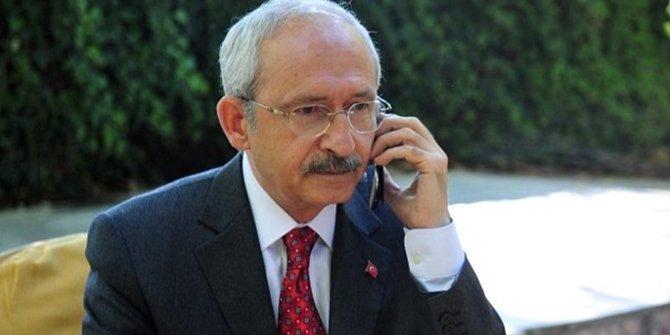 Kılıçdaroğlu'ndan Süleyman Soylu'ya telefon