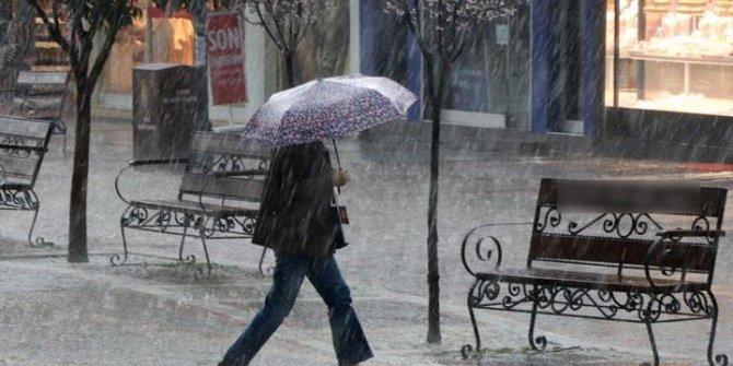 Meteoroloji'den son dakika uyarısı: Sağanak geliyor