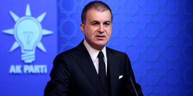 AKP sözcüsü Ömer Çelik'ten Fransa'ya Doğu Akdeniz tepkisi