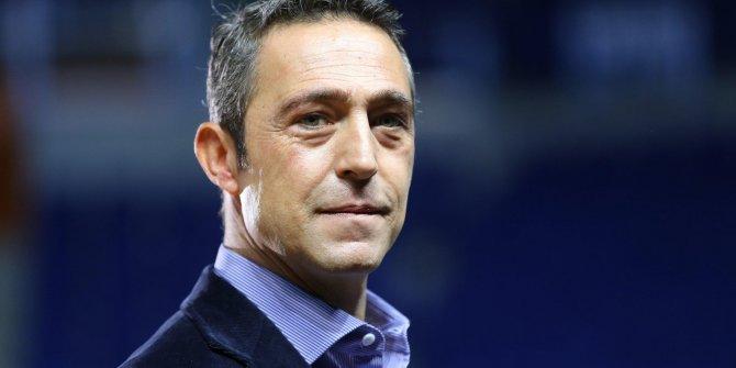 Fenerbahçe Başkanı Ali Koç'tan teknik direktör açıklaması