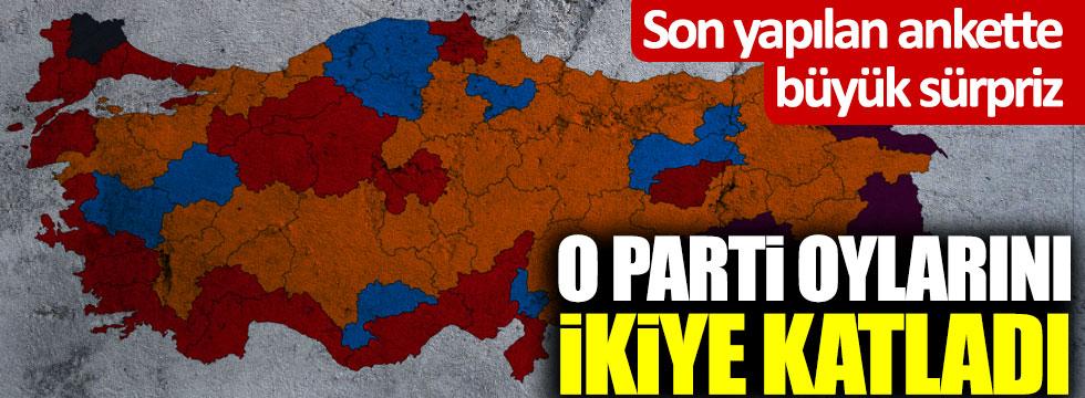 Son anket sonuçlarında sürpriz! CHP, AKP, DEVA Partisi...