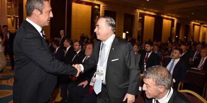 Olmaz denilen oldu: Ali Koç ve Mustafa Cengiz bir araya geldi