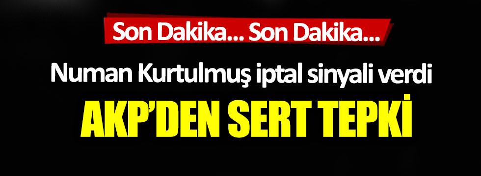 Son Dakika: AKP'den 'İstanbul Sözleşmesi' tepkisi!