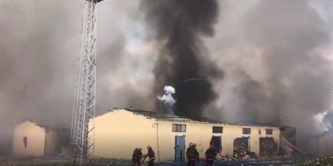 Sakarya'da havai fişek fabrikasında 3 şiddetli patlama