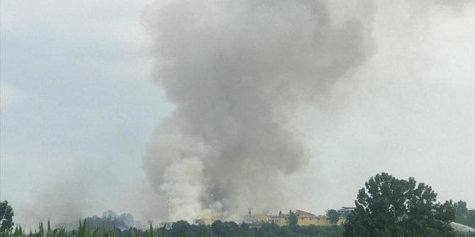 Patlamanın olduğu bölgedekilere büyük uyarı: Sakın o havayı solumayın