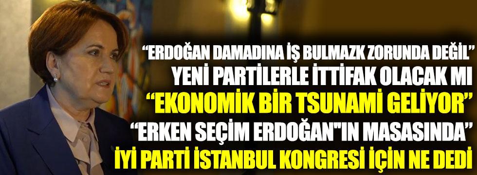 Meral Akşener canlı yayında açıkladı: Yeni partilerle ittifak olacak mı?