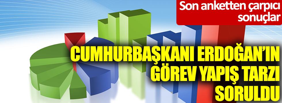 Son anketten çarpıcı sonuçları: AKP, CHP, İYİ Parti ve MHP seçmeninden 'Cumhurbaşkanı Erdoğan' yanıtı