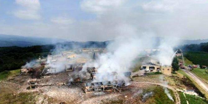 Sakarya'daki patlama vefat eden iki kişin kimlikleri belli oldu