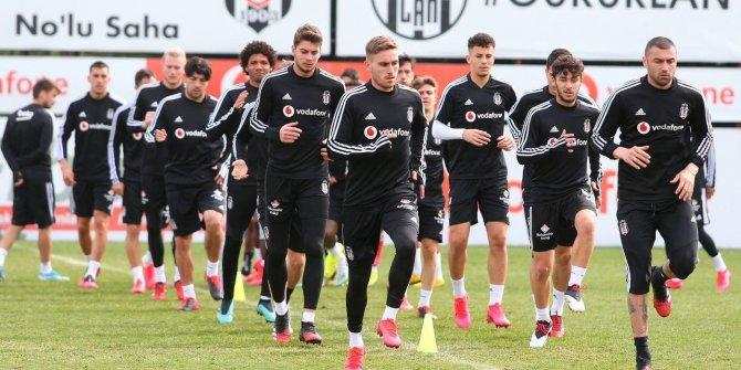 Beşiktaş, Kayserispor maçına hazırlanıyor