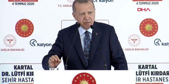 Erdoğan: Salgını en az kayıpla atlattık