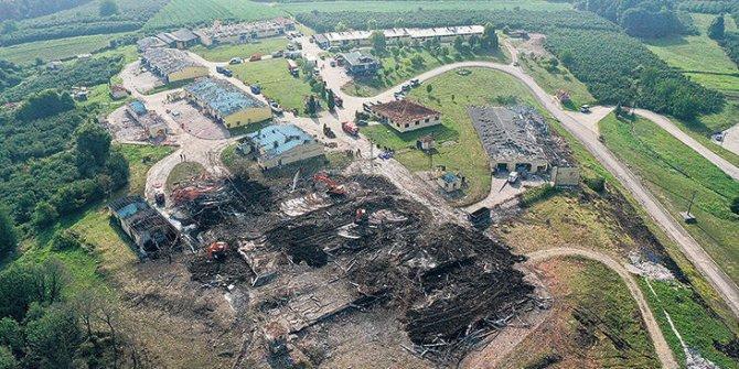 Sakarya'daki patlamada ölü sayısı yükseldi