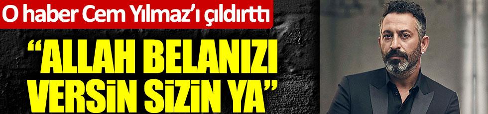 """Cem Yılmaz, Ozan Güven'le ilgili iddialara isyan etti: """"Allah sizin belanızı versin"""""""